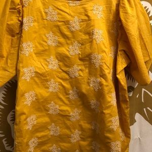 Loft summer cotton top. Worn once, washed once.